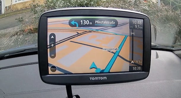 Foto di un navigatore TomTom