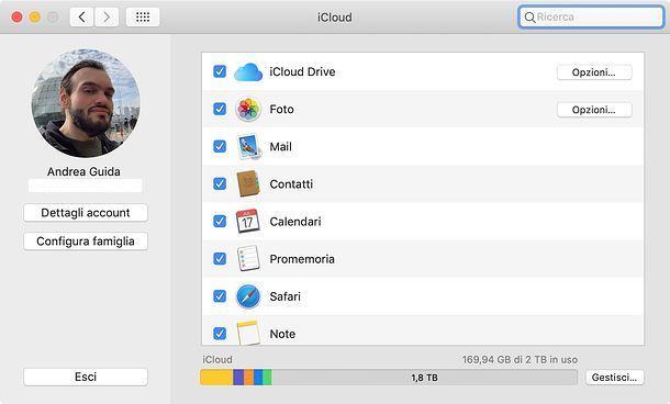 iCloud macOS