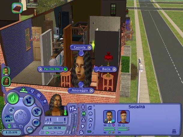 Cerca di fare un figlio The Sims 2