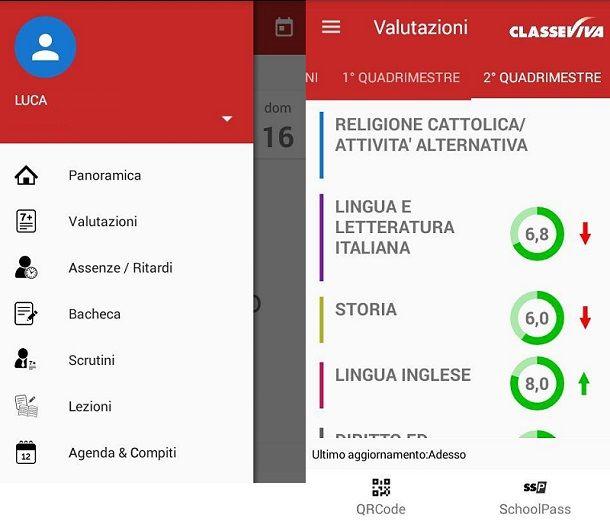 ClasseViva Famiglie smartphone