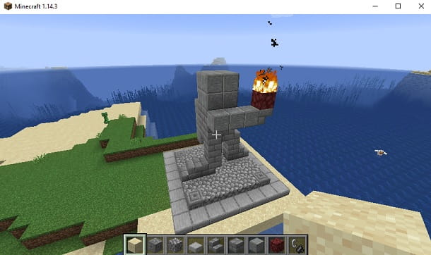 Come fare una statua su Minecraft