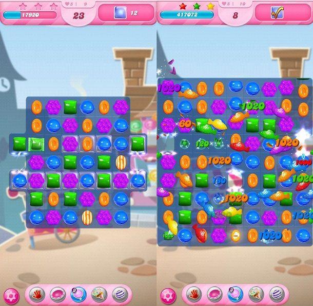 Come sbloccare livelli Candy Crush Saga
