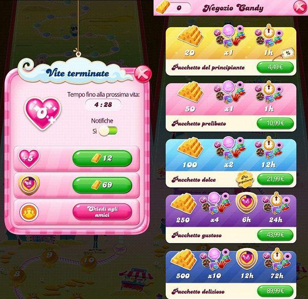 Come sbloccare livelli velocemente Candy Crush Saga