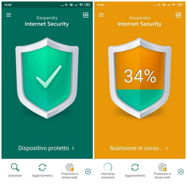 Come pulire Android da virus