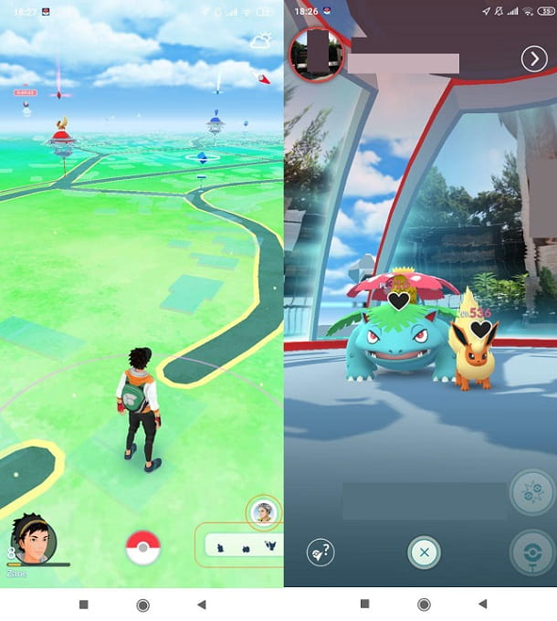 Palestre Pokémon GO