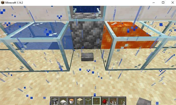 Pulsante di pietra Minecraft