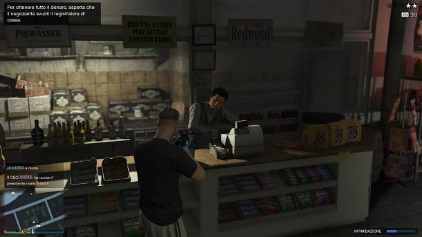 Rapine negozi GTA Online