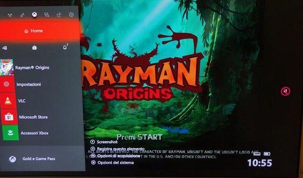 Registrazione Xbox