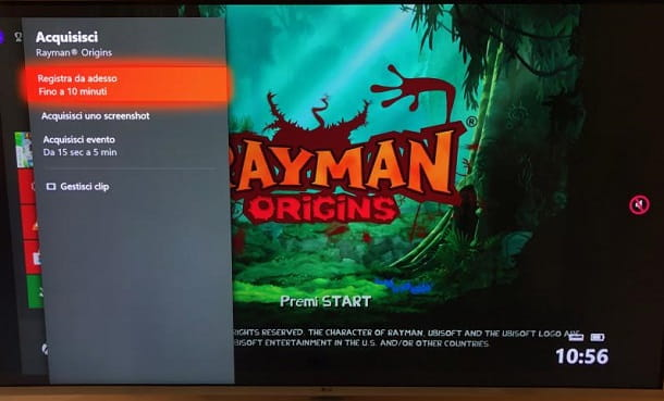 Registrazione gameplay