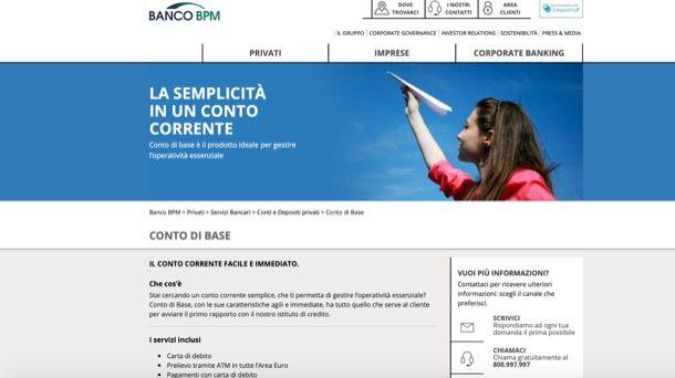 BPM conto online