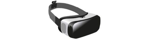 Esempio di visore VR