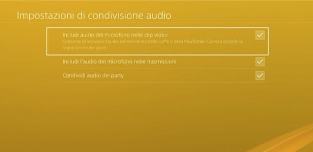 PS4 audio