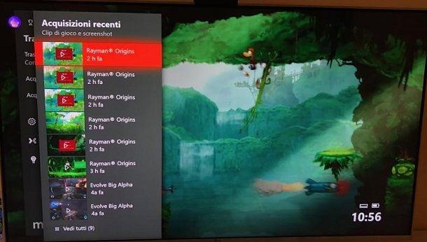 Registrazione schermo Xbox One