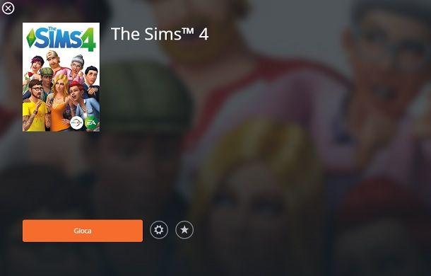 The Sims 4 Gioca Origin