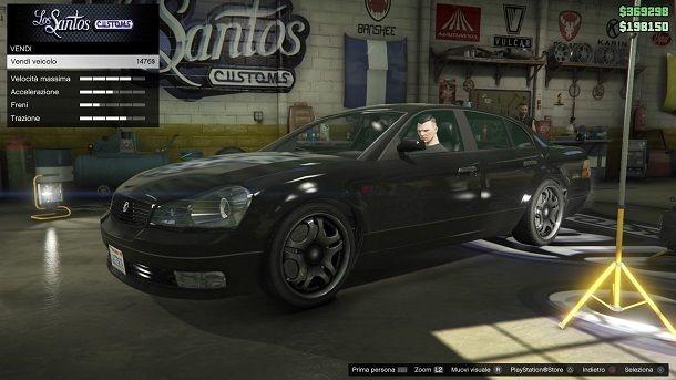 Vendi Macchina GTA Online
