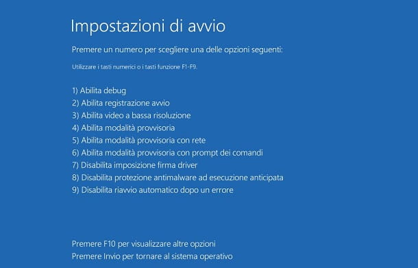 Windows 10 installazione driver senza firma