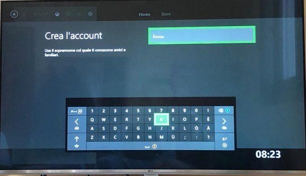 Xbox live account