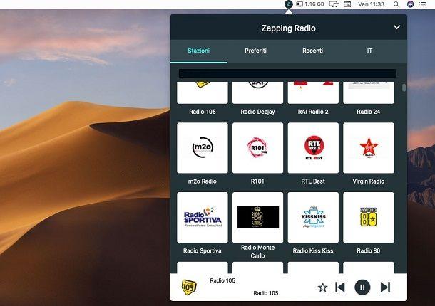Zapping Radio macOS