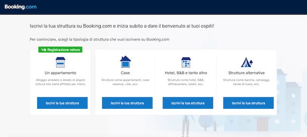 Affittare su Booking