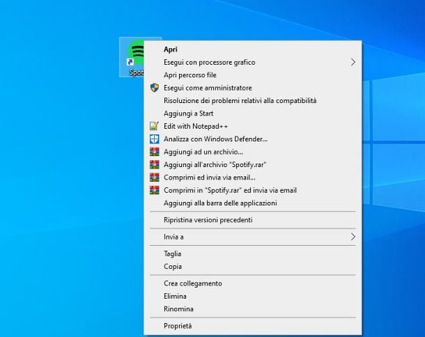 Come mettere un'app nel menu Start di Windows 10