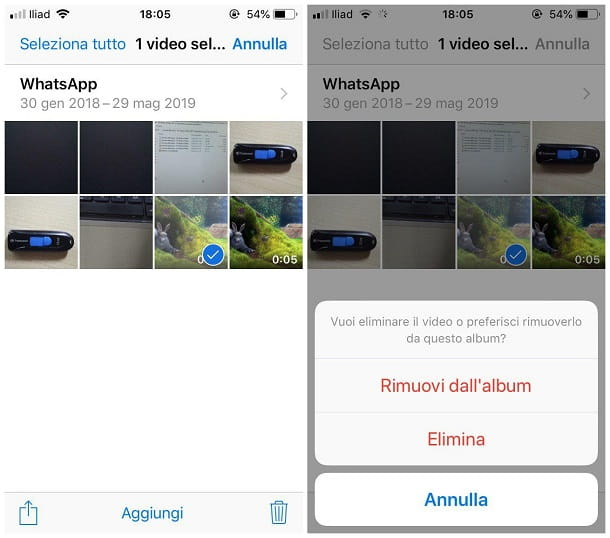 Come pulire WhatsApp su iPhone