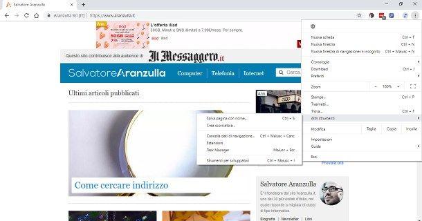 Come mettere sul desktop l'icona di un sito da PC - Browser