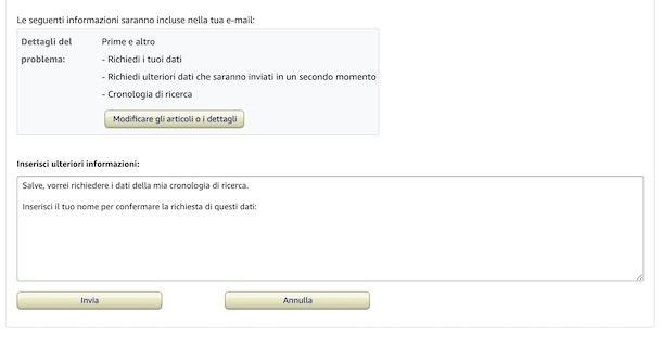 Assistenza Amazon