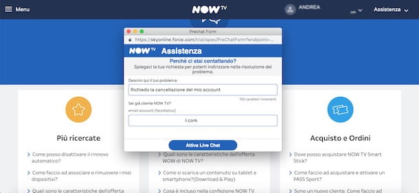 Chat NOW TV