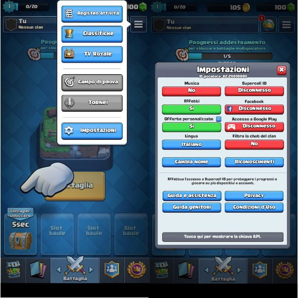 Clash Royale Supercell ID