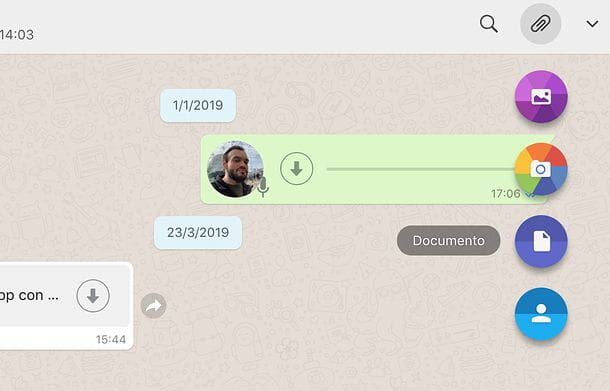 WhatsApp per Mac