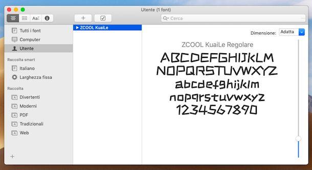 Libro Font Mac