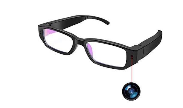 Occhiali con fotocamera integrata