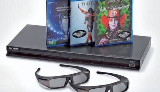 Lettore Blu Ray 3D