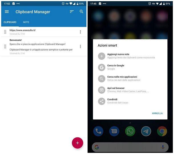 Come gestire i link copiati - Android