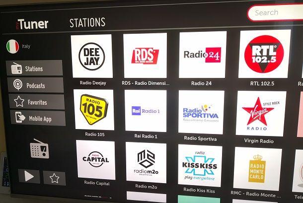 mytuner app Smart TV