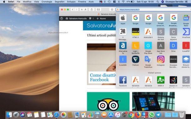 Come mettere sul desktop l'icona di un sito da PC - Mac