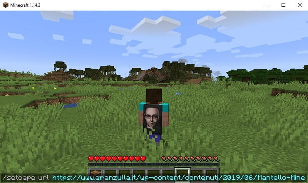 setcape Minecraft