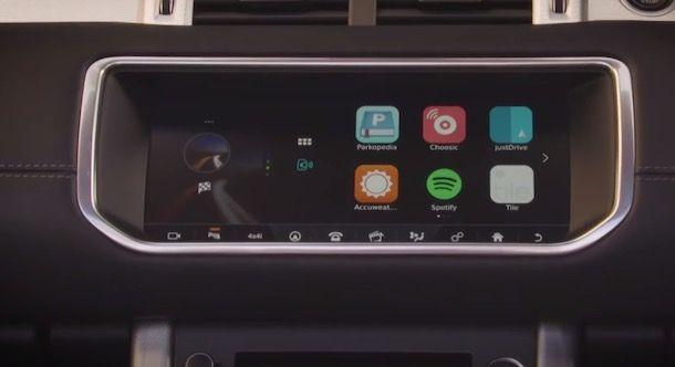 Spotify integrato in auto