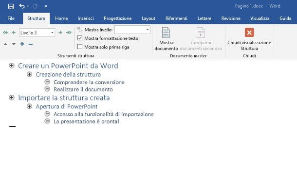 Come si fa un Power Point su Word per Windows