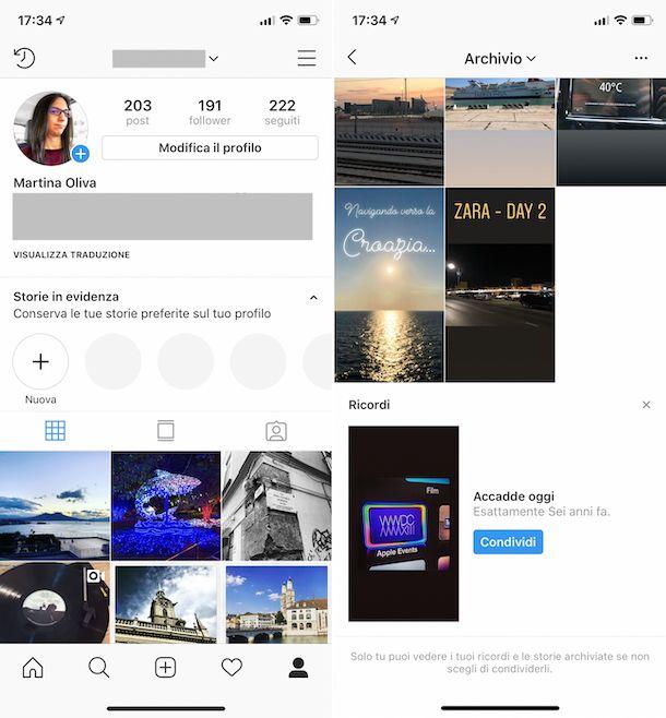 Instagram Ricordi