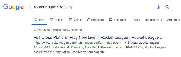 Come capire se un gioco supporta il crossplay