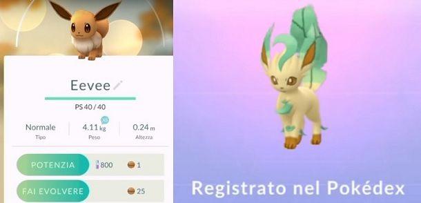 Come ottenere Leafeon Pokemon GO