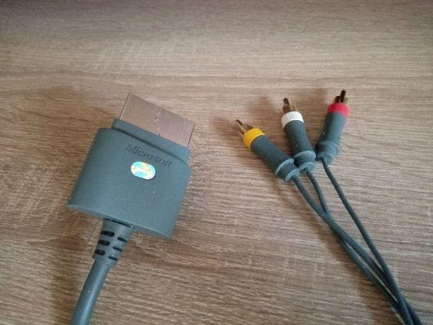 Component AV Xbox 360