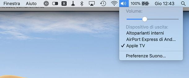 Audio AirPlay Mac