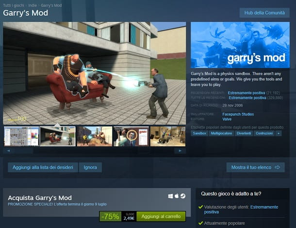 Garry's Mod Steam