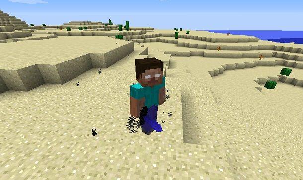 Herobrine su Minecraft