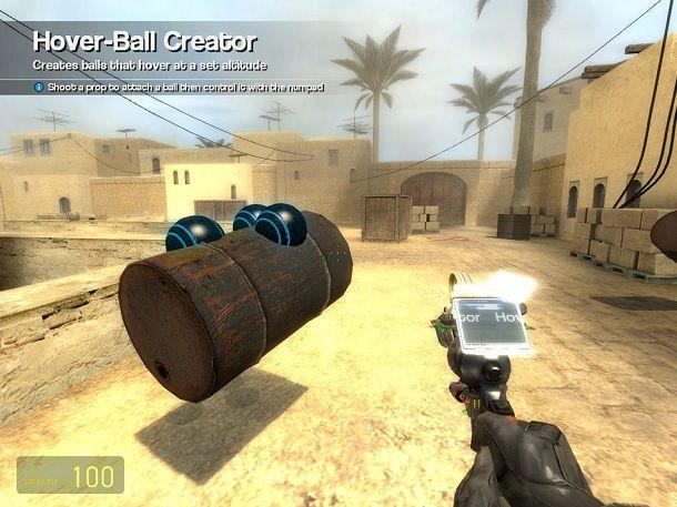 Hover-Ball Garry's Mod sito ufficiale