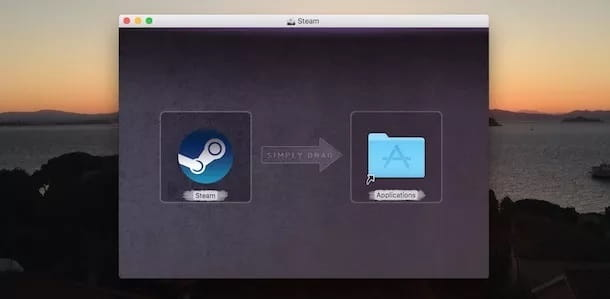 Installare Steam Mac