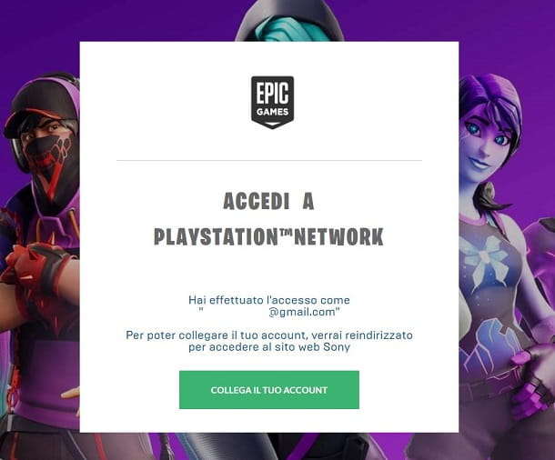 PS Network Fortnite