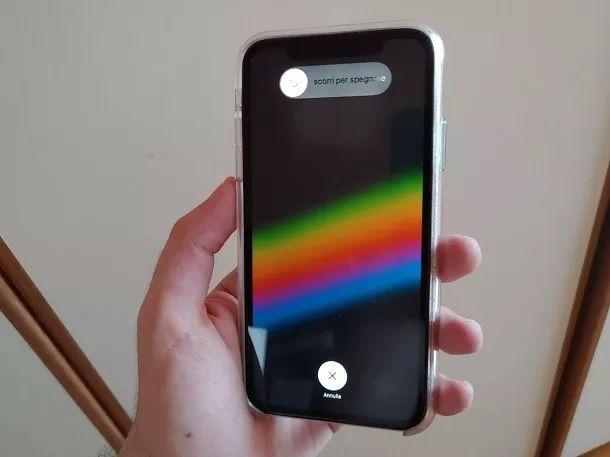 Riavvia iPhone XR Bloccato